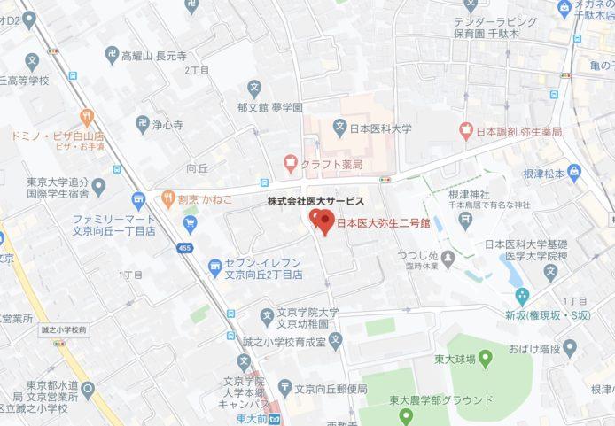 弥生2号館地図